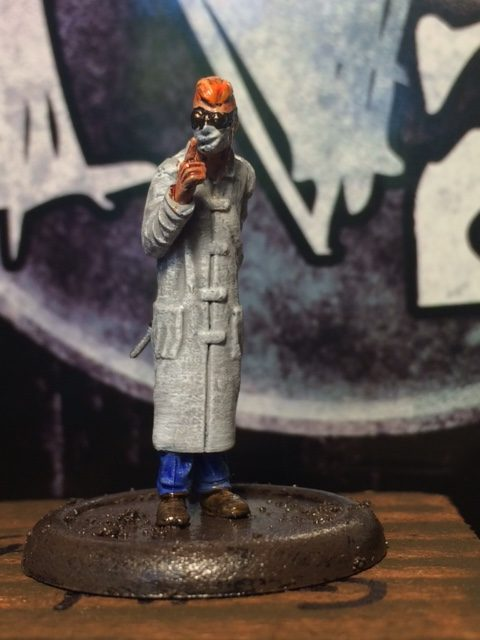 Malifaux - Orderly - The Nut Gallery Review